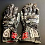 Sam Lowes gloves auction
