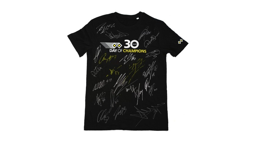 Day of Champions signed tee