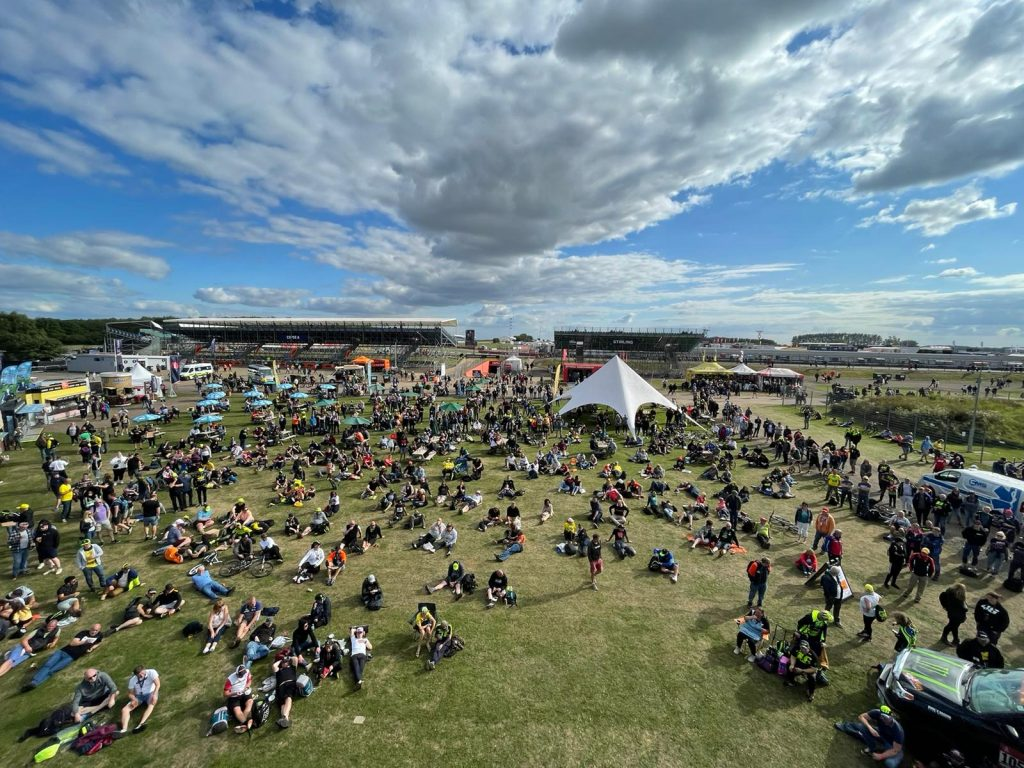 View from the Monster Energy Stage