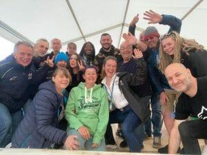 British GP weekend volunteers